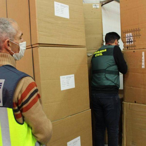 Desarticulada en València una organización criminal dedicada al contrabando de tabaco